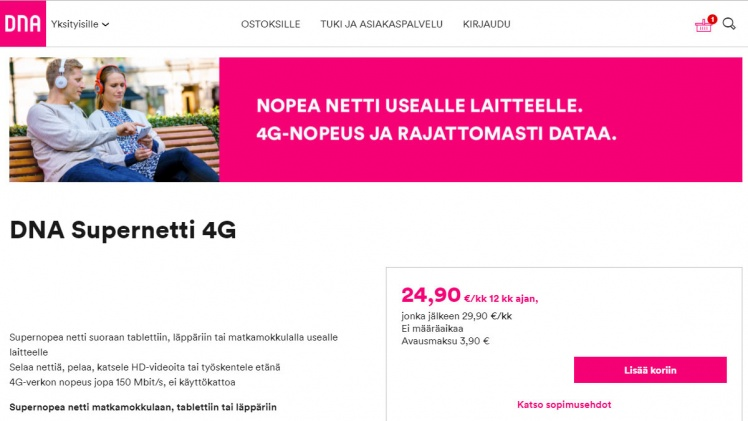 DNA Supernetti 4G